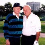 Don with Arnold Palmer