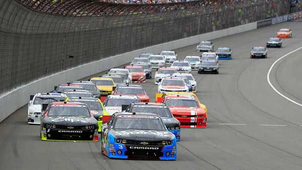 NASCAR Nationwide Series race cars will race in Boyd Gaming 300