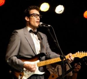 John Mueller as Buddy Holly