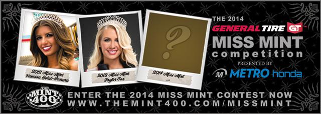 Miss Mint 400 2014