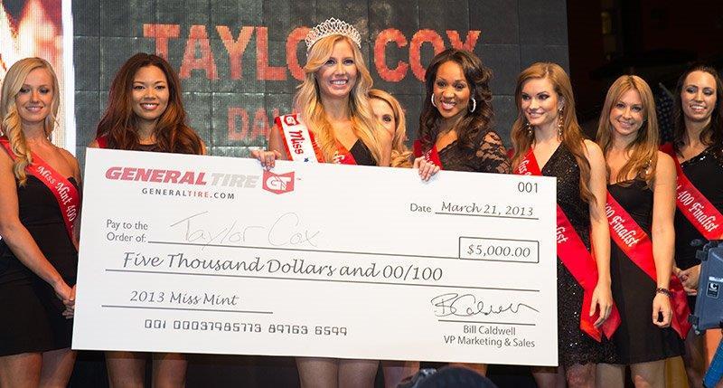 Taylor Cox Miss Mint 2013