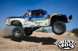 Andy McMillin's winning trophy truck