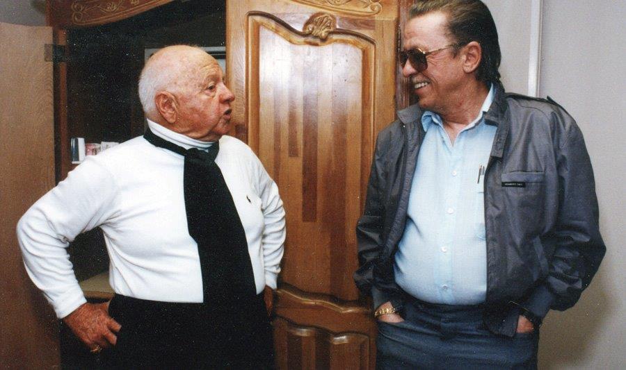 Mickey Rooney & Me