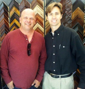 Pawn Stars Rick Harrison and Art Encounter's Brett Maly