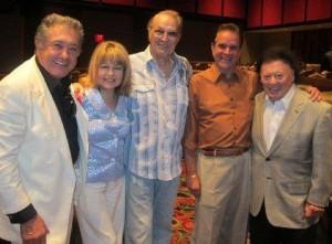 Nelson Sardelli, Pia Zadora, Steve, Rich Little and Marty Allen