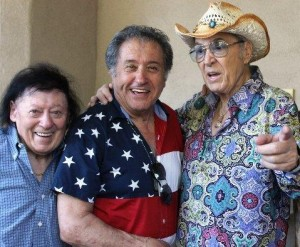 Steve Rossi, Nelson Sardelli and Marty Allen