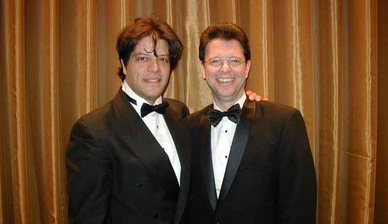 George Bugatti and Sam Arlen
