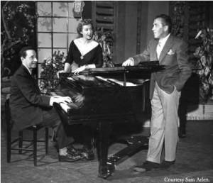 Harold Arlen, Rise Stevens and Ed Sullivan