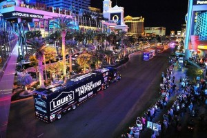 NASCAR Hauler Parade