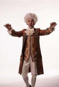 Tasso Feldman as Mozart