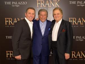 Bob Anderson, Tony Bennett, and Vincent Falcone