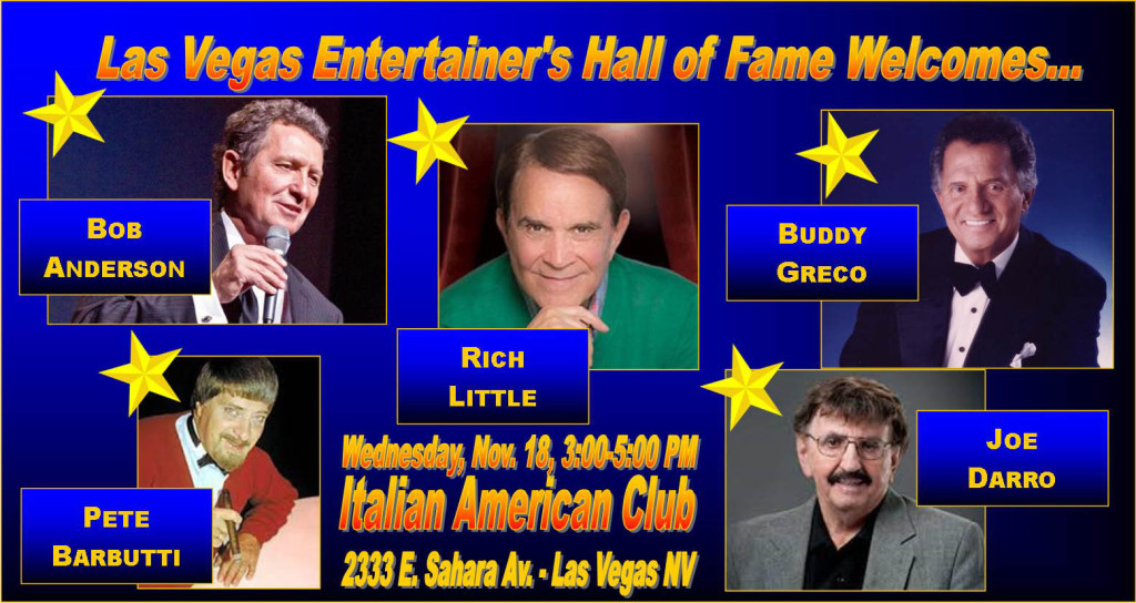 Las Vegas Entertainers Hall of Fame