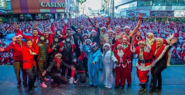 Santas for the 11th annual Great Santa Run