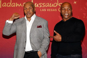 Mike Tyson at Madame Tussaud