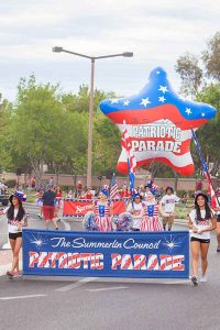 Summerlin Council Patriotic Parade