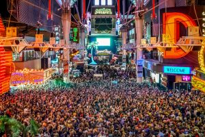 Fremont Street Experience Rock of Vegas