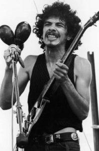 Carlos Santana Woodstock 1969