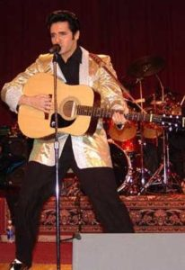 Donny Edwards as Elvis Presley