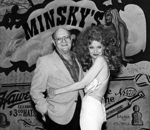 Maynard Sloate with Tempest Storm