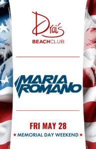 DJ Maria Romano at Drai's Beach Club