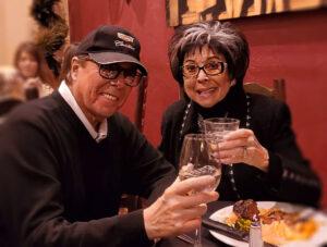 Dennis Bono and Lorraine Hunt at the Bootlegger Bistro