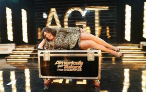 Vicki Barbolak on America's Got Talent