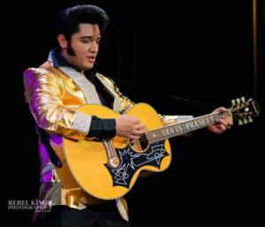 Justin Shandor as Elvis Presley