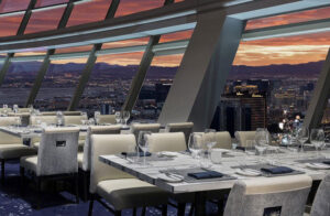 Top of The World restaurant at the STRAT