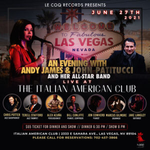 Andy James & John Patitucci and Her All-Star Band