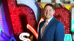 Aaron Berger, Executive Director of The Neon Museum